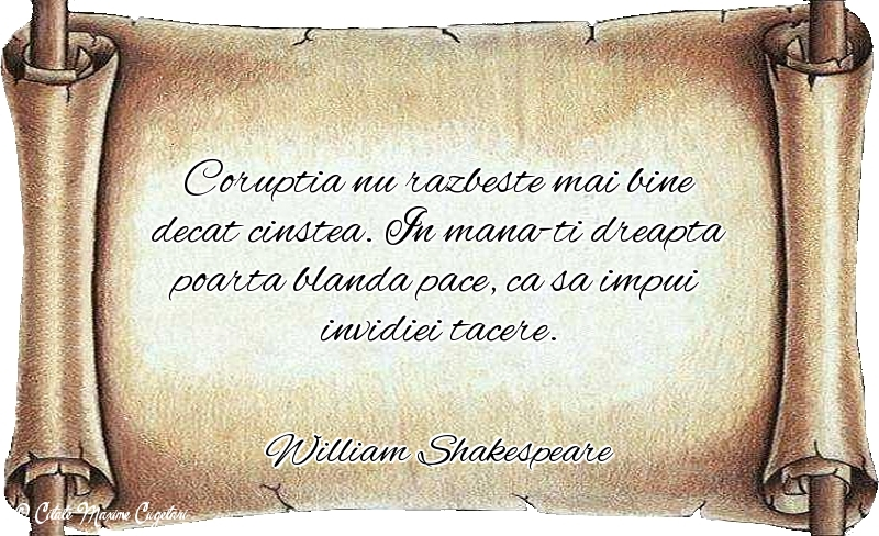 Citate despre Caracter - William Shakespeare